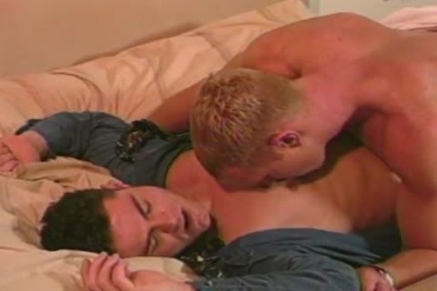 Dave Russell And Dax Kelly pretty homosexuals In action
