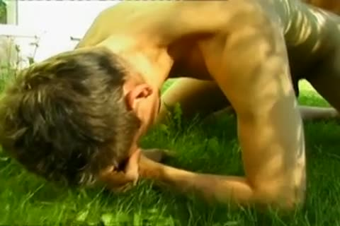 sleazy young gay men enjoy yummy brutaly outdoors anal plowing