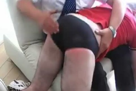 Spanked By Angry Daddy