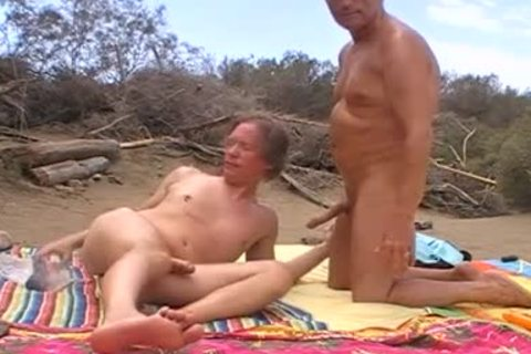 When The Sun Burns Down In The Dunes Of Maspalomas, We Usually get kinky, No Matter If Anyone Is Around Or Passing By. I Love To Feel My Husbands ramrod In My Hungry butthole opening When that guy Breeds Me. So I cant assist But Shooting My Load When