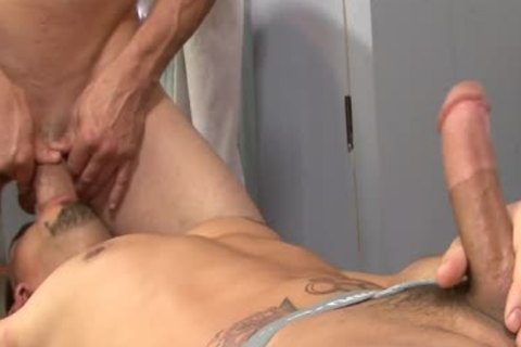 Sporty dicks Brenn Wyson And Pthis fellownix Saint