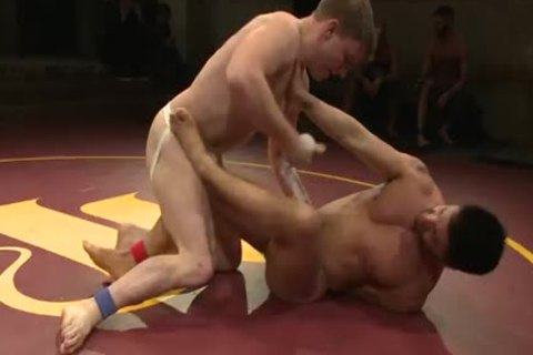 homo Wrestling between Dominic Pacifico And Doug Acre