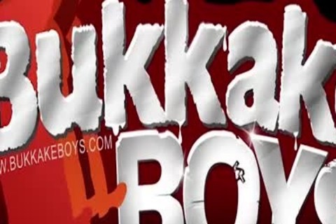 teen's Bukkake Turns Into An orgy
