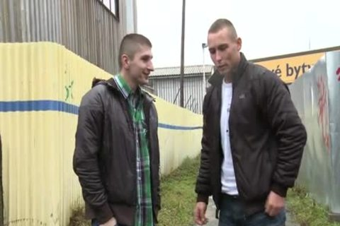 Czech Series - Getting butthole In The Alley