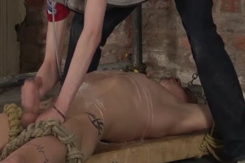 fastened Up Nathan Cums After Nathan delicious And Cold oral