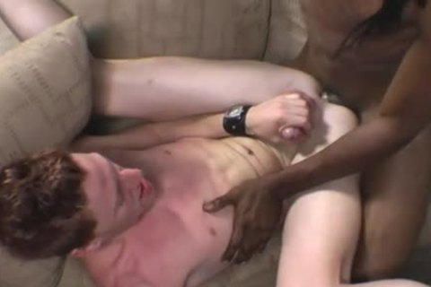 Gene Hawk Enjoys His First Time With A darksome guy