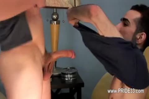 Buddies With penis Deeply Inserted In His butthole