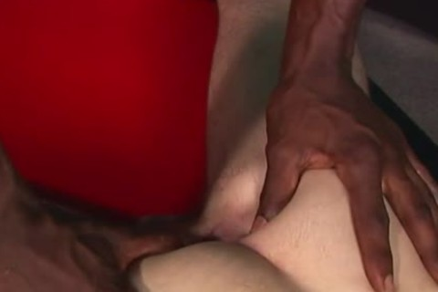 darksome dick Makes A Shy White lad cum Hard