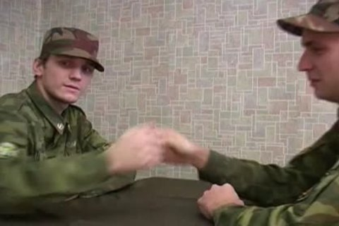 Three Seductive And homosexual Soldiers Have fun