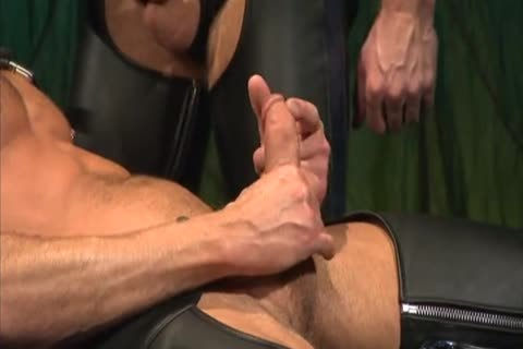 Leather hammering And Fisting: Colin Steele & Rick Van Sant