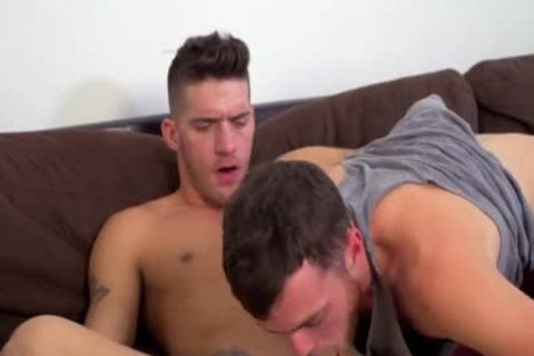 that man Lubes His Bumhole before nailing Knee deep.
