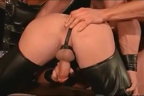 Ritual Leather 3some