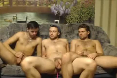 three Randy Russian Straight Individuals Go homosexual For The First Time On webcam