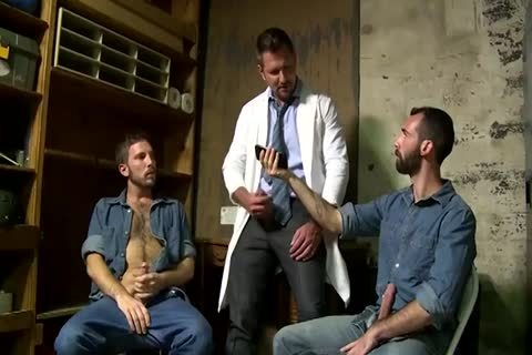 2 Fit old boyz Greek Gods In Rehab Doing The enchanting Doctor After Therapy