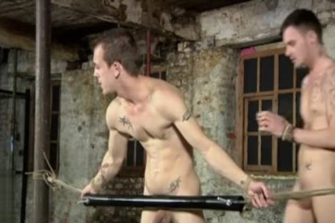 Tattoo twinks Domination With sex cream flow