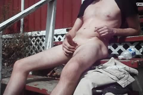 Outdoor pleasure On Sunny Day, sperm discharged