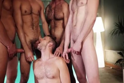 nasty homosexual threesome With cumshot