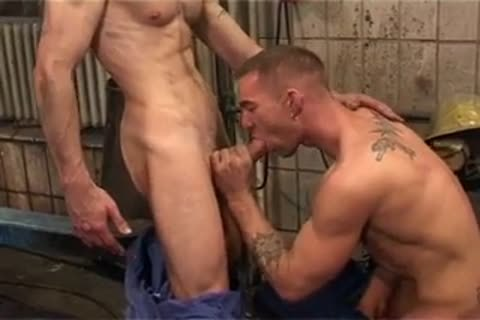 Dishy Tattooed Hunk Getting slammed powerful - Gayfurorcom