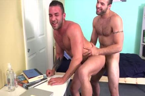 hairy homo anal sex With semen flow
