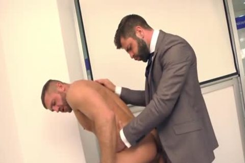 Muscle homosexual ass plow And cumshot