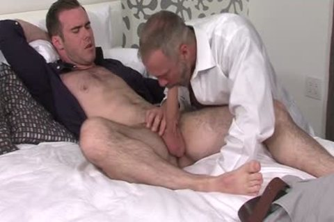 Silver Fox Dallas Steele And Clean Cut cock Matthew Bosch cum jointly