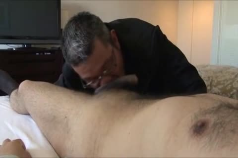 Daddy Businessmen Having Some pleasure In A Hotel Room