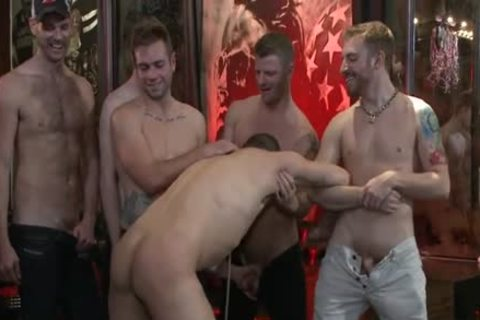 horny homosexual thrashing And Facial