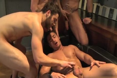Muscle homo oral sex With spunk flow