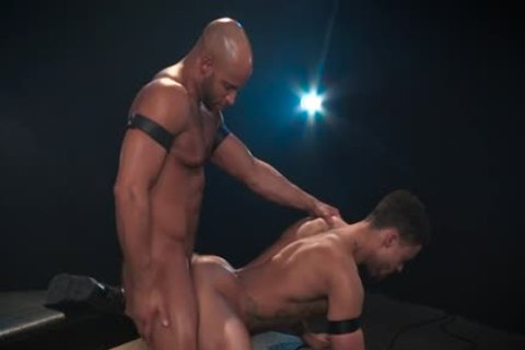Muscle homo anal With anal cum flow