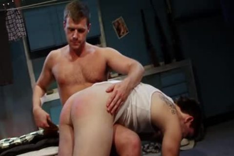 Spanked And banged For sucking Himself