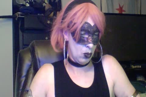 gorgeous Dancing Goth CD web camera Show (part 2 Of 2)