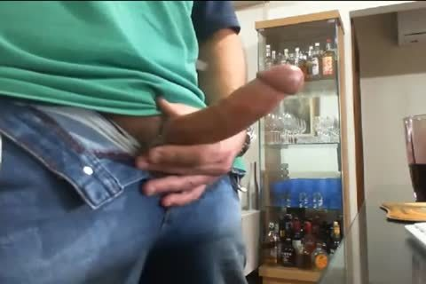 Daddy wanking And Cumming In The End