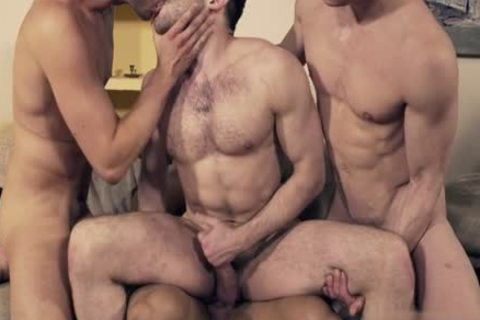 lovely gay double penetration And Facial
