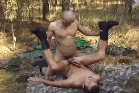 Outdoor Blowjobs For those Army males
