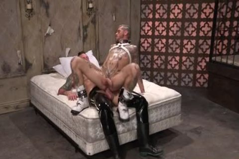 Muscle gay Fetish And sperm flow