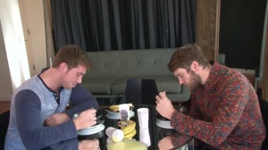 Look What The fellows Dragged In - Colby Keller & Connor Maguire ass invasion