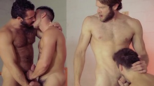 Howl - Jessy Ares & Colby Keller anal plow