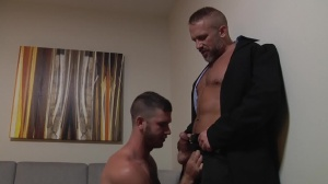 Daddy Hunt - Dirk Caber with Jimmy Fanz anal slam