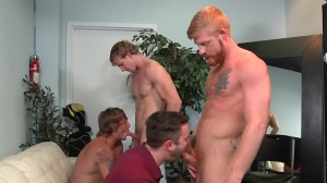 Swingers - Cameron Foster and Bennett Anthony butthole sex