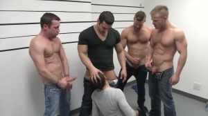 The Line Up - Landon Conrad & Trevor Knight anal plow