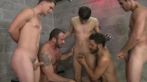 cream Shower - Tommy Defendi, Spencer Reed bathroom Sex