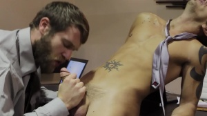 The Boardroom - Colby Keller and Shane Frost anal stab