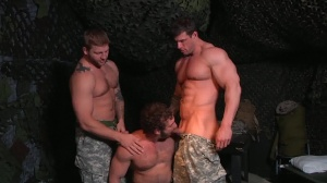 trip Of Duty - Zeb Atlas and Colby Jansen butthole bang
