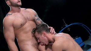 The Gaytrix - Colby Jansen and Darius Ferdynand butthole Love