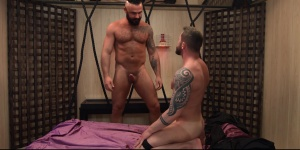 Art Of Domination - Jessy Ares with Tyler Berg arse stab