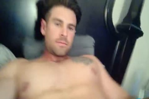 Sammy Lee On Flirt4Free - Hunk W humongous ramrod likes Sliding A vibrator In His butthole