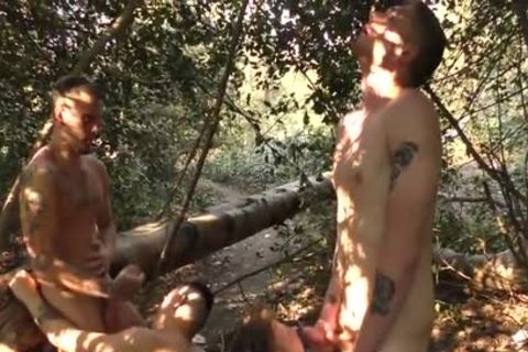 twinks fucking nude In The Woods - Part two