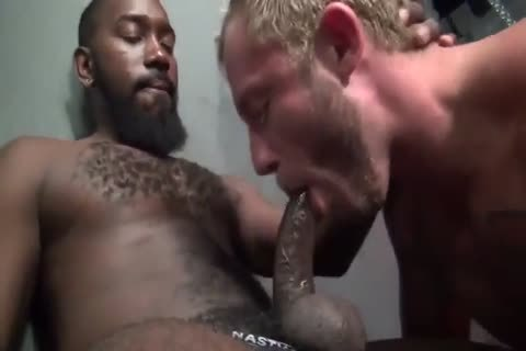 threesome bare plowing With brawny young homosexuals