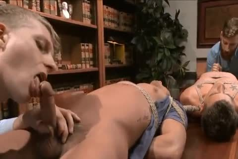 (Edging) two men receive tied Up And Teased