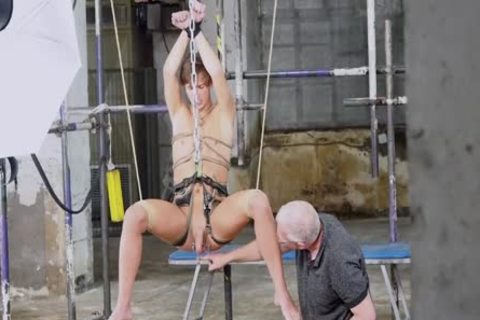 homosexual twink Sub Endures rough butt job From Deviant taskmaster